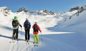St. Anton is the TOP location for skiing - Galzig Lodge